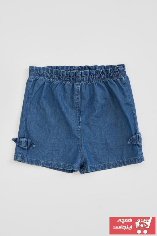خرید شلوارک نوزاد دخترانه فانتزی برند دفاکتو رنگ آبی کد ty40120268