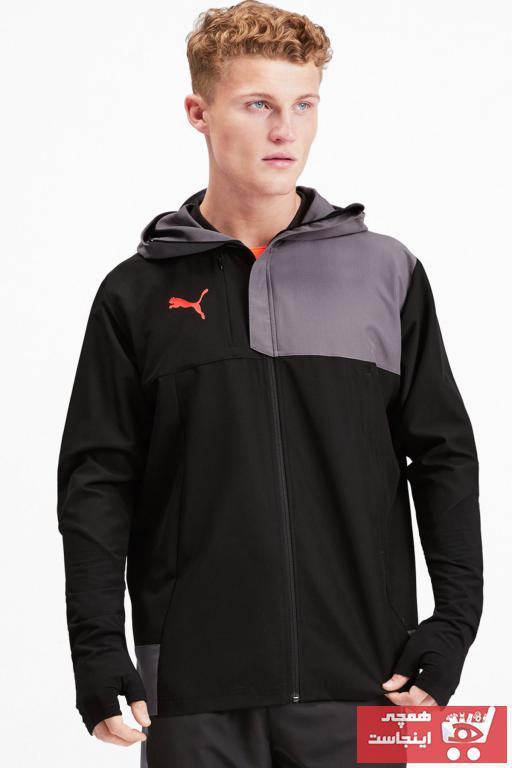 خرید مدل گرمکن ورزشی مردانه برند Puma رنگ مشکی کد ty40424357