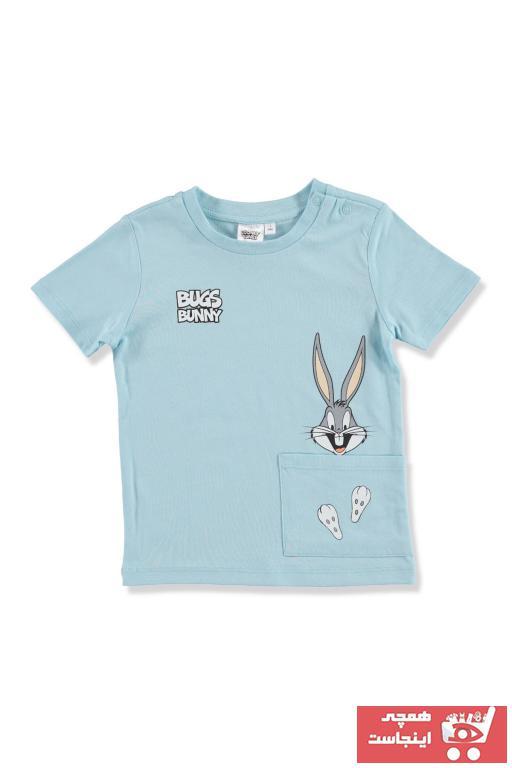 تیشرت نوزاد دخترانه اسپرت جدید برند Warner Bross رنگ آبی کد ty40589945