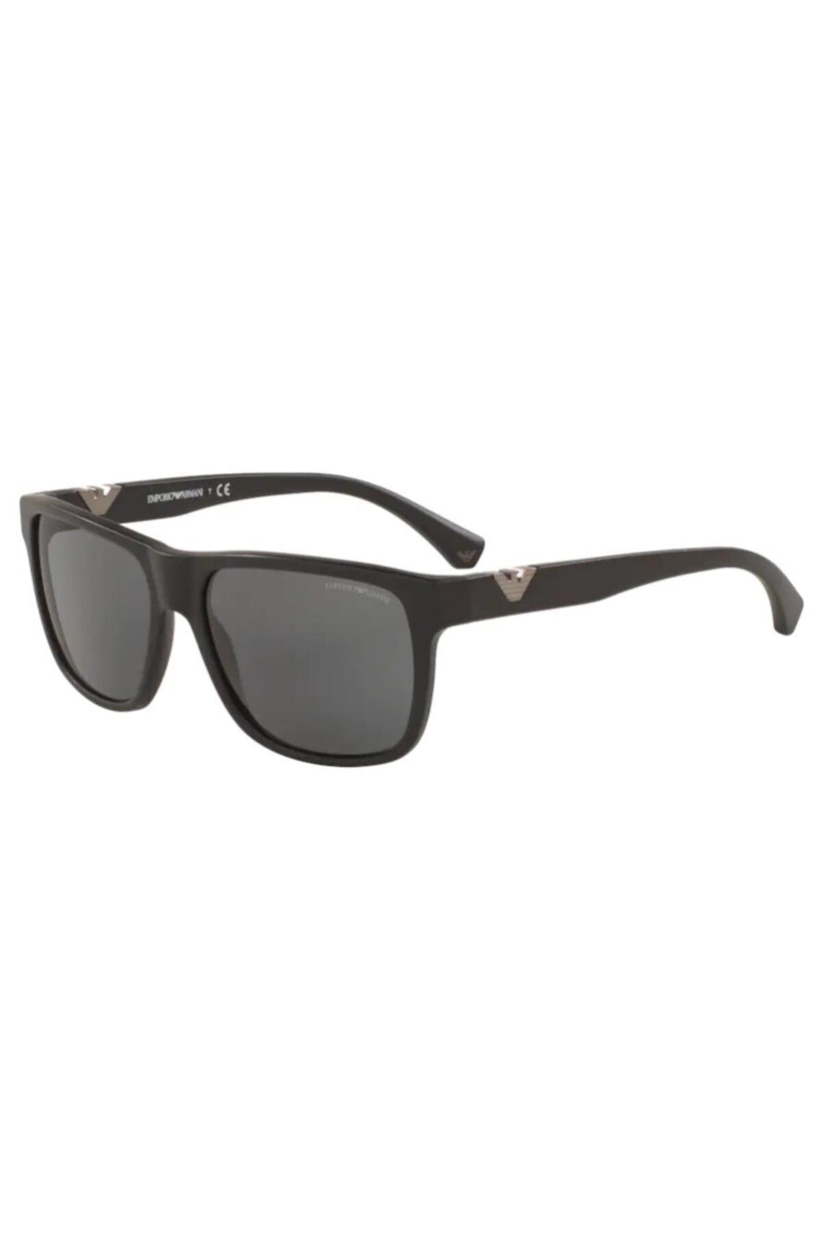 عینک دودی مردانه  برند امپریو آرمانی رنگ مشکی کد ty40801090