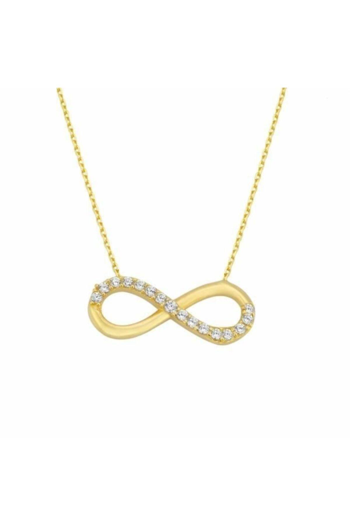 گردنبند طلا زنانه ارزانی برند Sembol Gold رنگ طلایی ty41170634