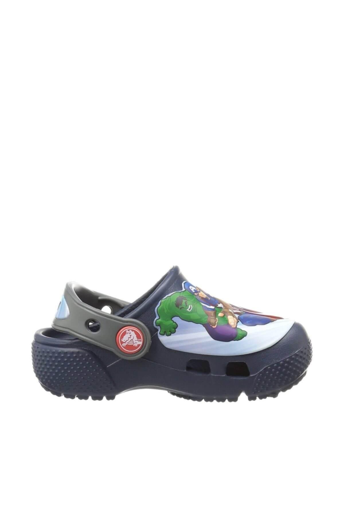 خرید اسان دمپایی نوزاد پسرانه پیاده روی جدید برند Crocs رنگ لاجوردی کد ty4118893