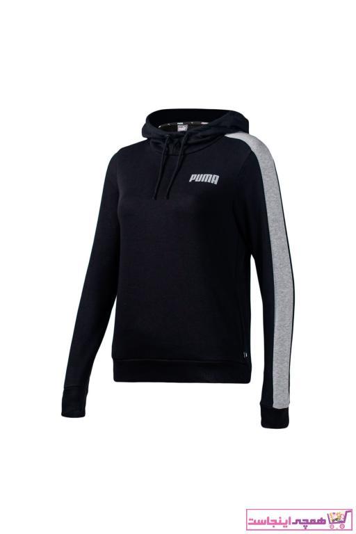خرید نقدی گرمکن ورزشی ارزان زنانه برند Puma رنگ مشکی کد ty41311542