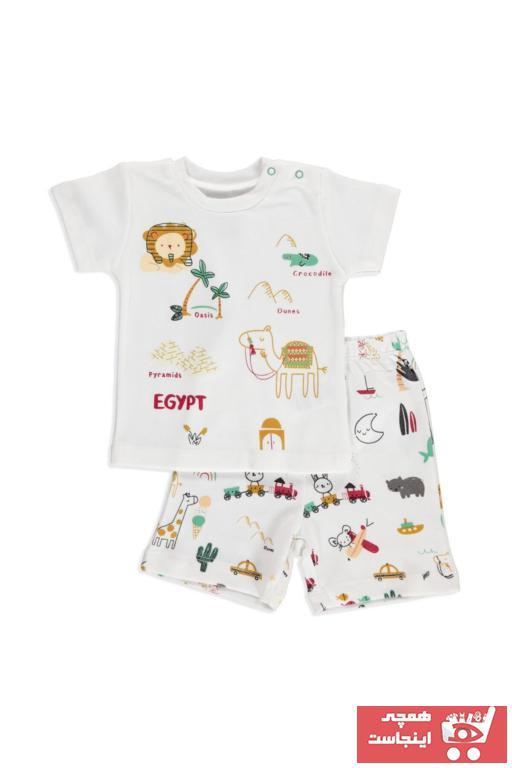 خرید ست لباس نوزاد پسرانه شیک مجلسی برند Luggi کد ty41519683