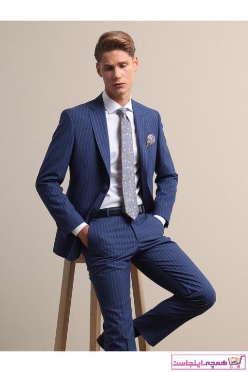 خرید انلاین کت شلوار مردانه ترکیه برند Kip رنگ آبی کد ty41950246