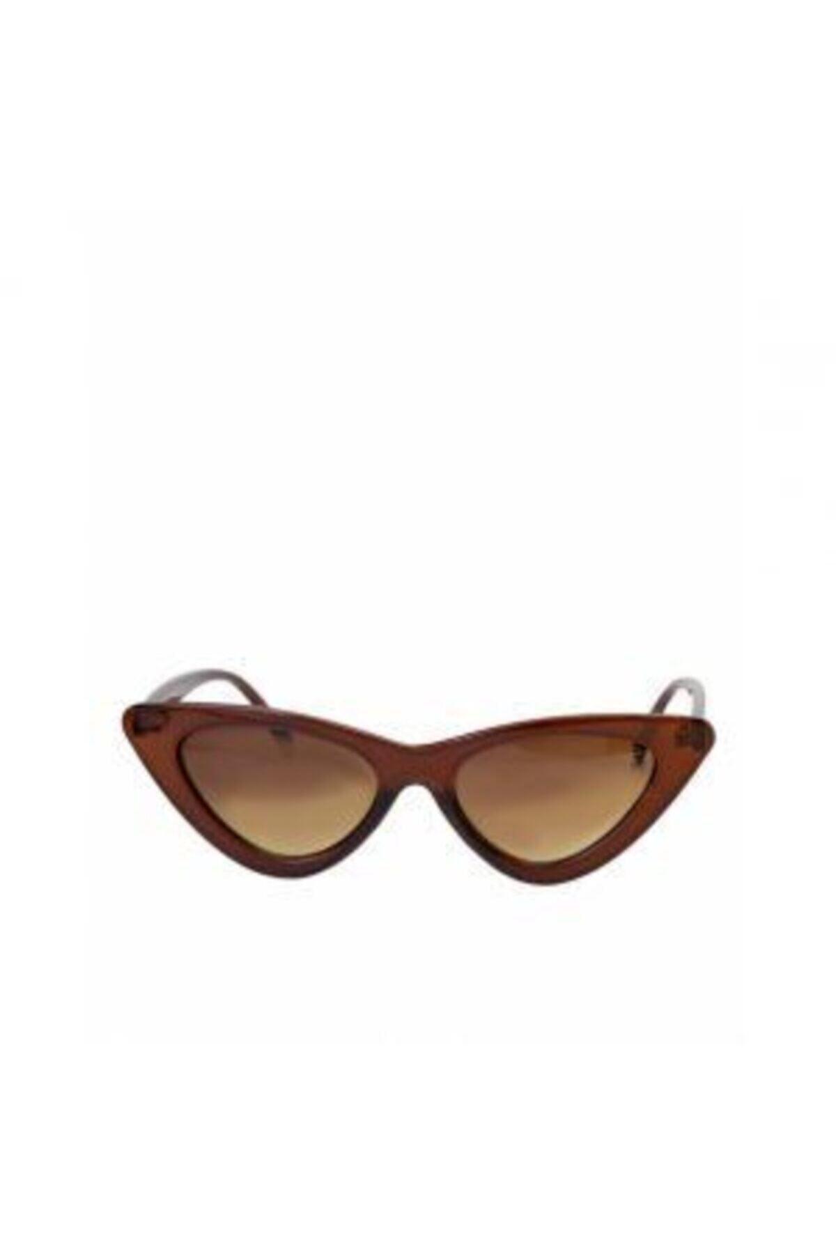 فروش انلاین عینک آفتابی زنانه مجلسی برند Mathilda Aksesuar رنگ قهوه ای کد ty42254479
