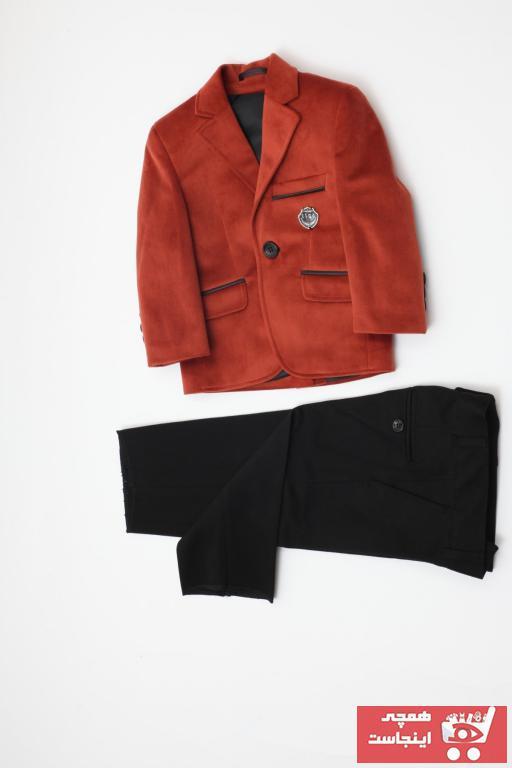 فروش لباس مجلسی بچه گانه 2021 برند Tiga Kids رنگ نارنجی کد ty42371941