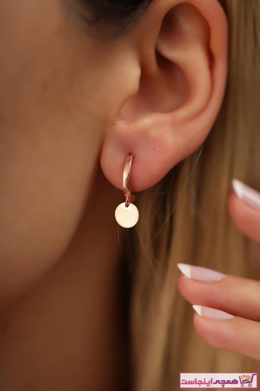 فروش گوشواره زنانه جدید برند İzla Design رنگ صورتی ty42419472
