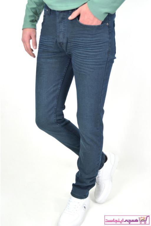 شلوار جین زمستانی مردانه برند ds danlıspor رنگ سبز کد ty42494324