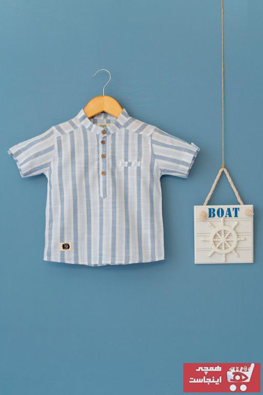 پیراهن بچه گانه ارزان قیمت برند Cigit رنگ آبی کد ty42542873