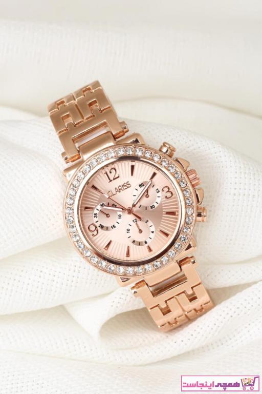 خرید نقدی ساعت زنانه برند Clariss رنگ صورتی ty42614139