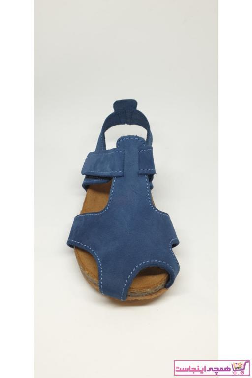 صندل نوزاد دخترانه ترک برند Nubebe رنگ آبی کد ty42764923