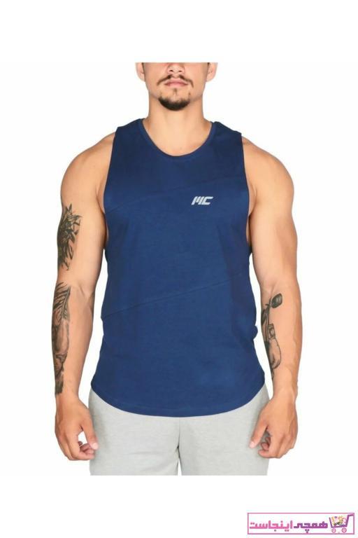 فروش زیرپوش مردانه نخی برند MUSCLECLOTH رنگ آبی کد ty43234213