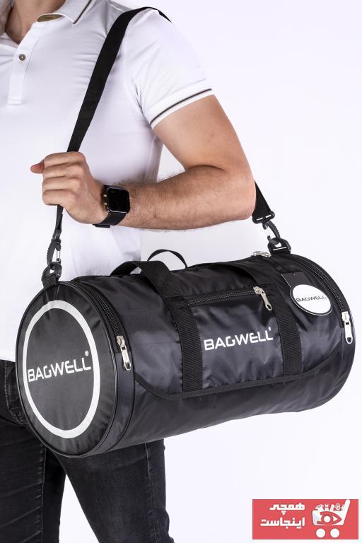 کیف ورزشی مردانه فروش برند BAGWELL رنگ مشکی کد ty43235667
