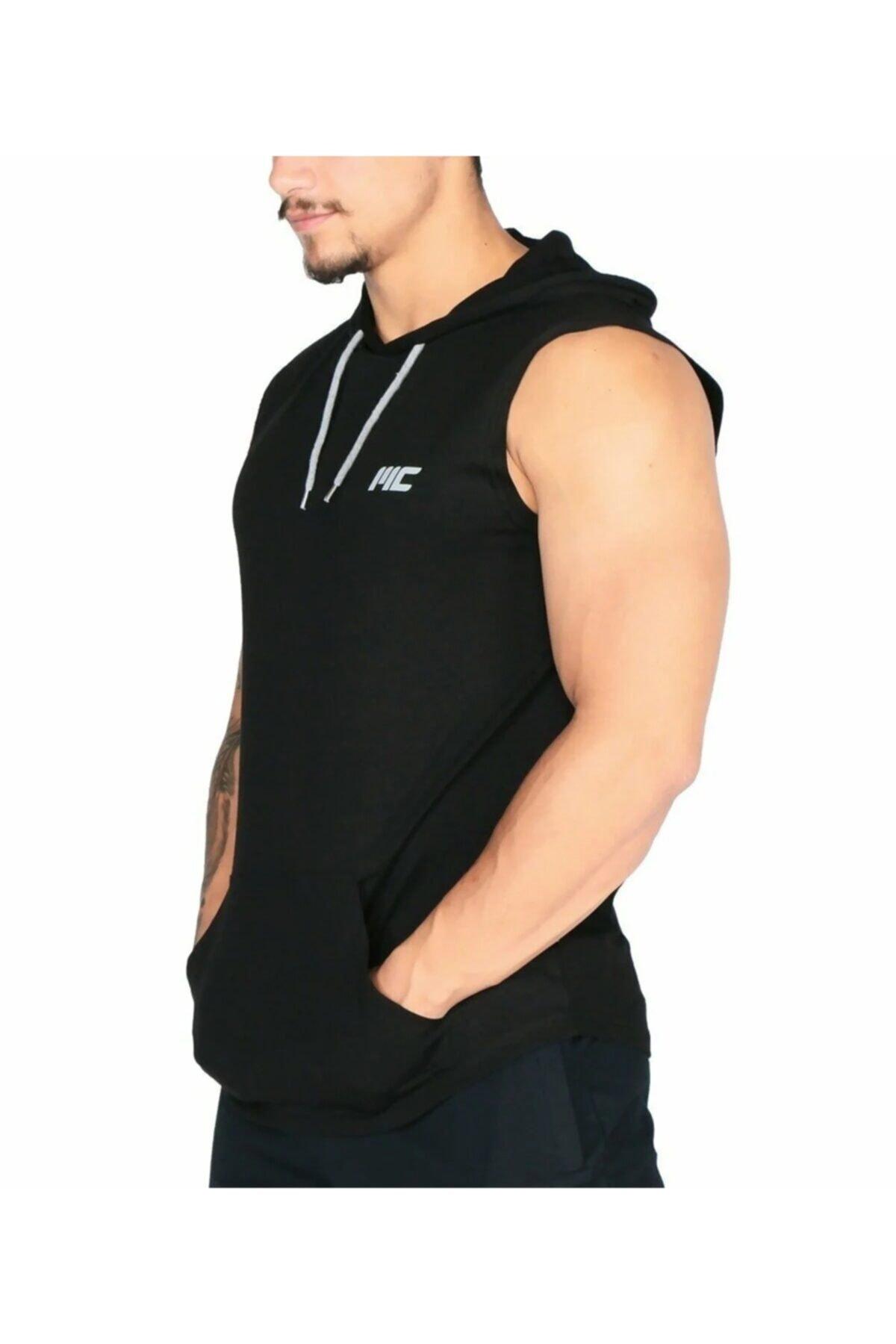فروشگاه رکابی مردانه سال 1400 برند MUSCLECLOTH رنگ مشکی کد ty43241341