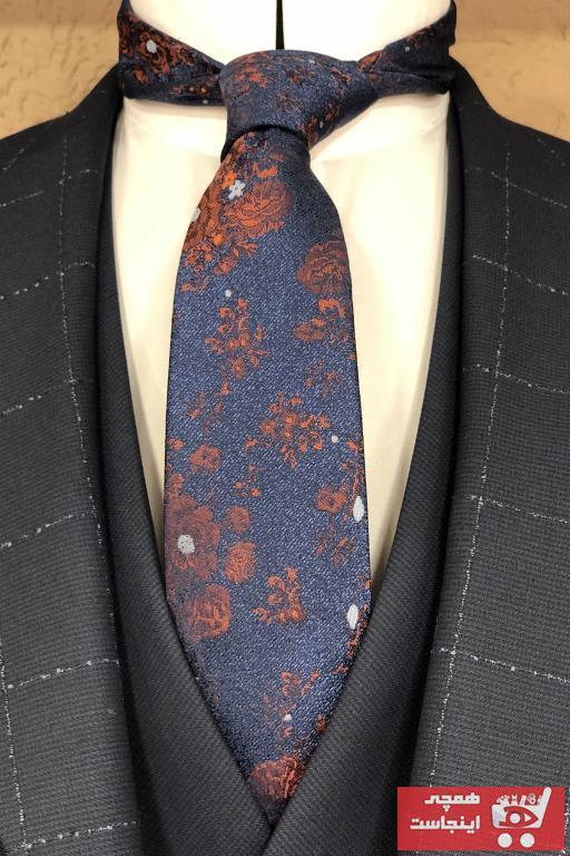 کراوات برند Quesste Accessory رنگ نارنجی کد ty43345199