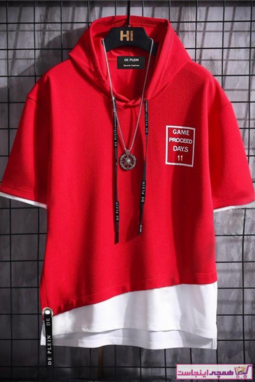 تیشرت زنانه برند DE PLEIN رنگ قرمز ty43347073