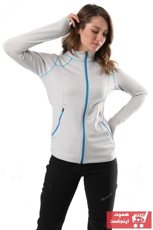 فروشگاه گرمکن ورزشی مردانه تابستانی Climbolic رنگ نقره ای کد ty43373191