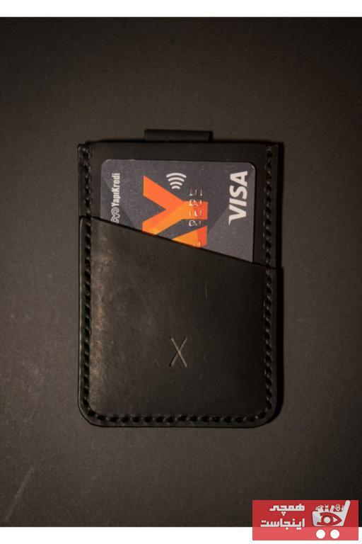 فروش کیف کارت بانکی دخترانه  برند minimal X design رنگ مشکی کد ty43422850