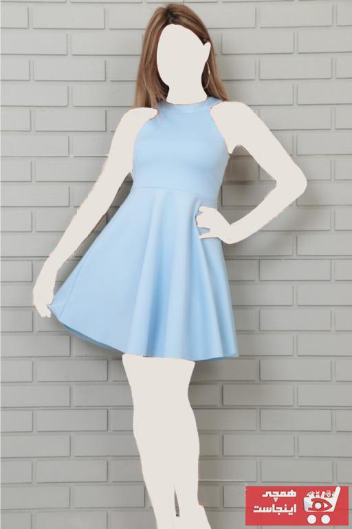 لباس مجلسی زنانه فانتزی برند lovebox رنگ بژ کد ty43430847