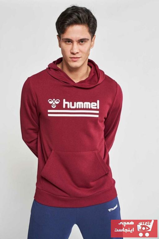 خرید مدل گرمکن ورزشی زنانه مارک هومل رنگ زرشکی ty43811746