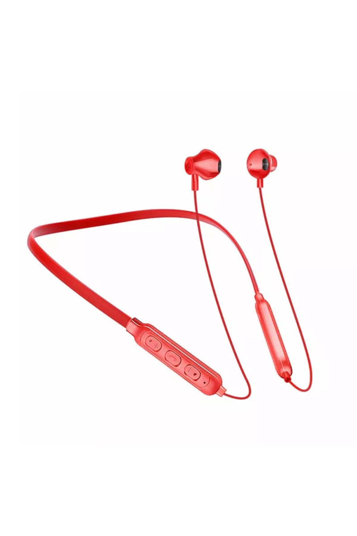 خرید هدفون بی سیم بلوتوث دار اورجینال برند MARSTEC رنگ قرمز ty43906455
