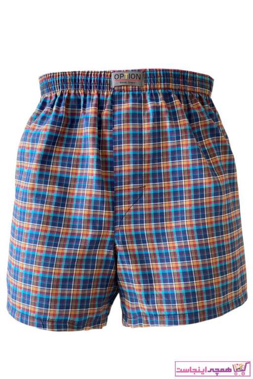 خرید شورت مردانه شیک برند Option رنگ آبی کد ty43919156