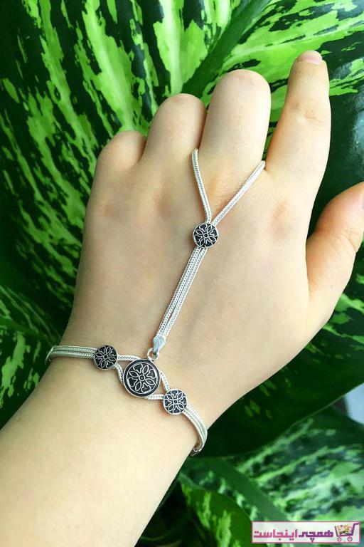 خرید ارزان دستبند انگشتی زنانه اسپرت برند Sümer Telkari رنگ نقره کد ty44233399