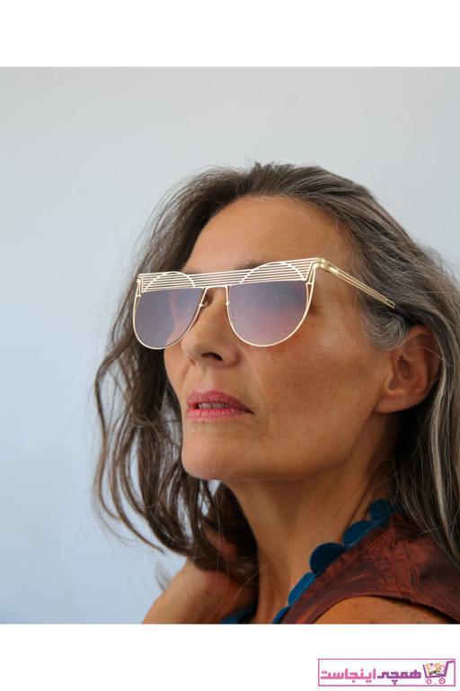 عینک آفتابی زنانه نخ پنبه برند Bilge Karga رنگ قهوه ای کد ty44638496