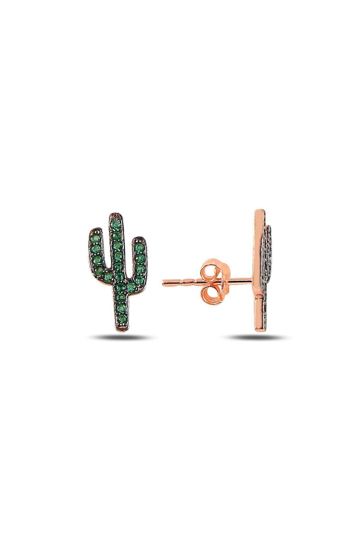 خرید اسان گوشواره زنانه زیبا برند Söğütlü Silver رنگ سبز کد ty45335477