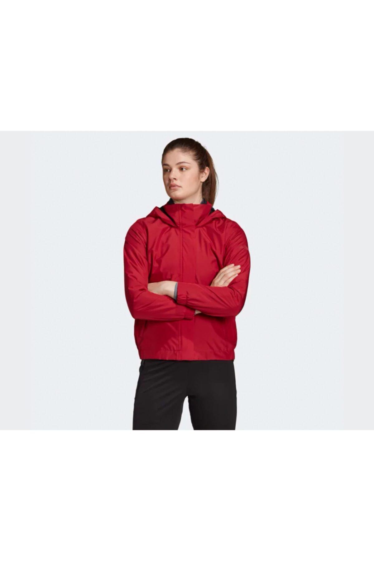 خرید ارزان کاپشن ورزشی مردانه پیاده روی برند ادیداس رنگ قرمز ty46127237