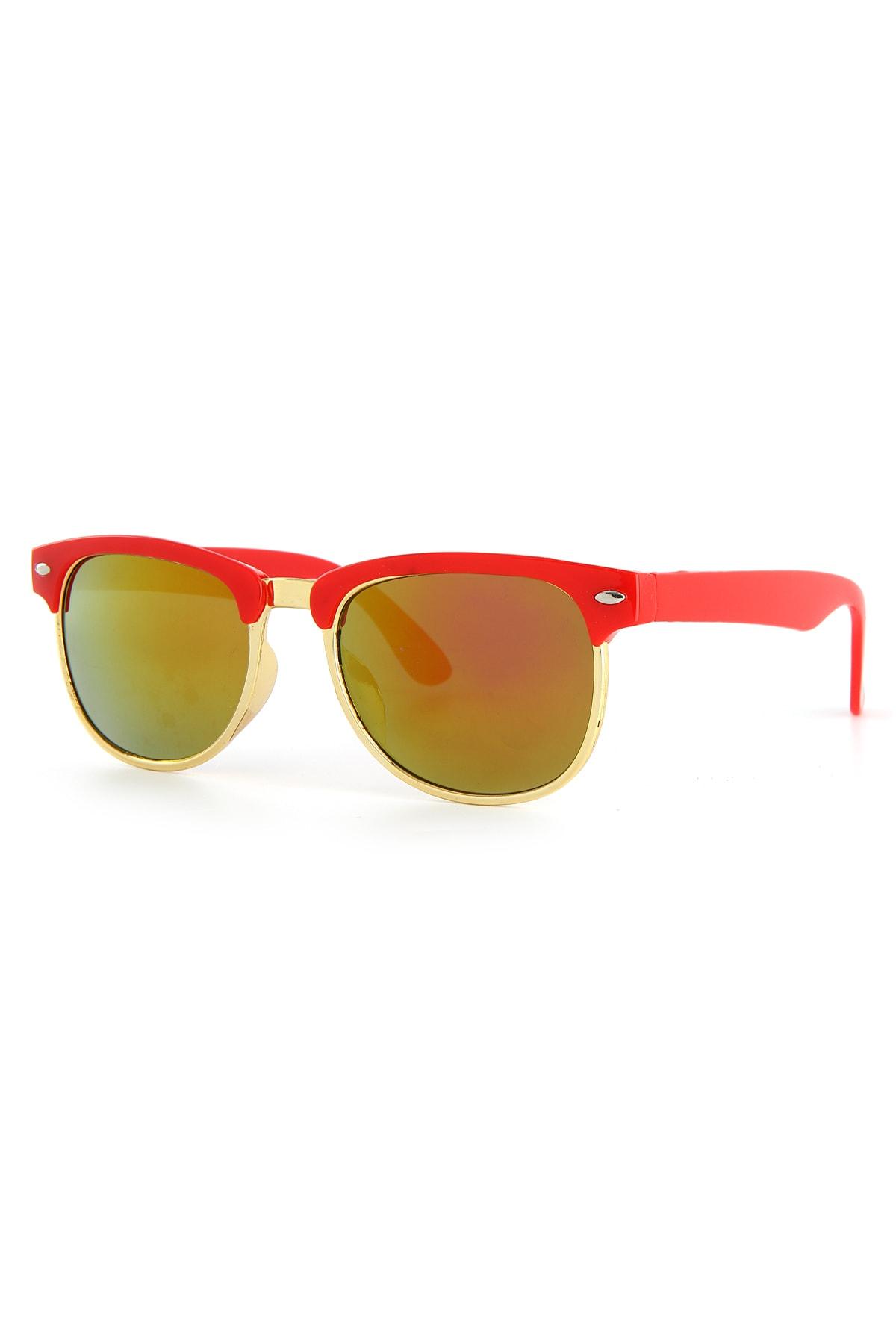 خرید نقدی عینک آفتابی بچه گانه دخترانه  مارک Aqua Di Polo 1987 رنگ زرشکی ty46157787