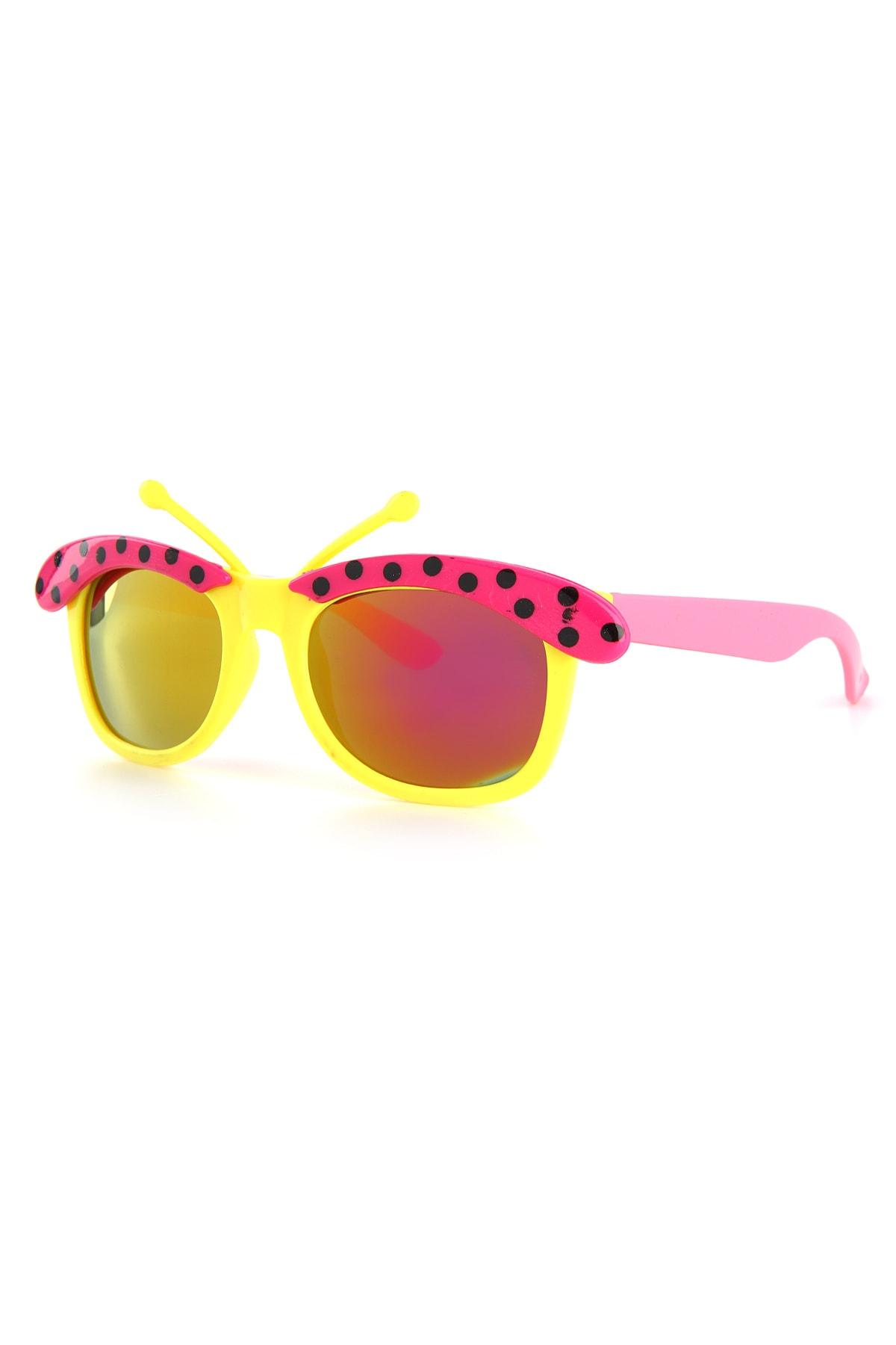 خرید عینک آفتابی دخترانه 2021 برند Aqua Di Polo 1987 رنگ زرشکی ty46157962