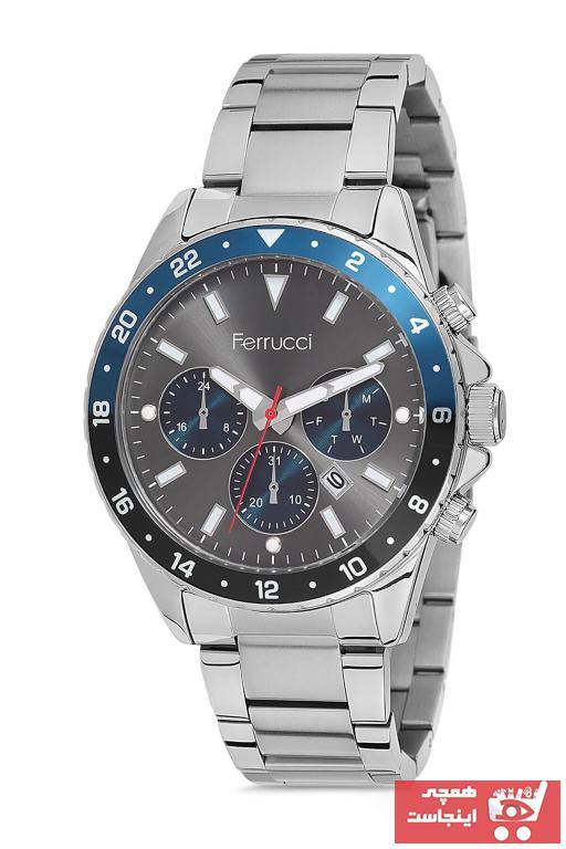 خرید پستی ساعت مردانه ارزان برند Ferrucci کد ty46203955