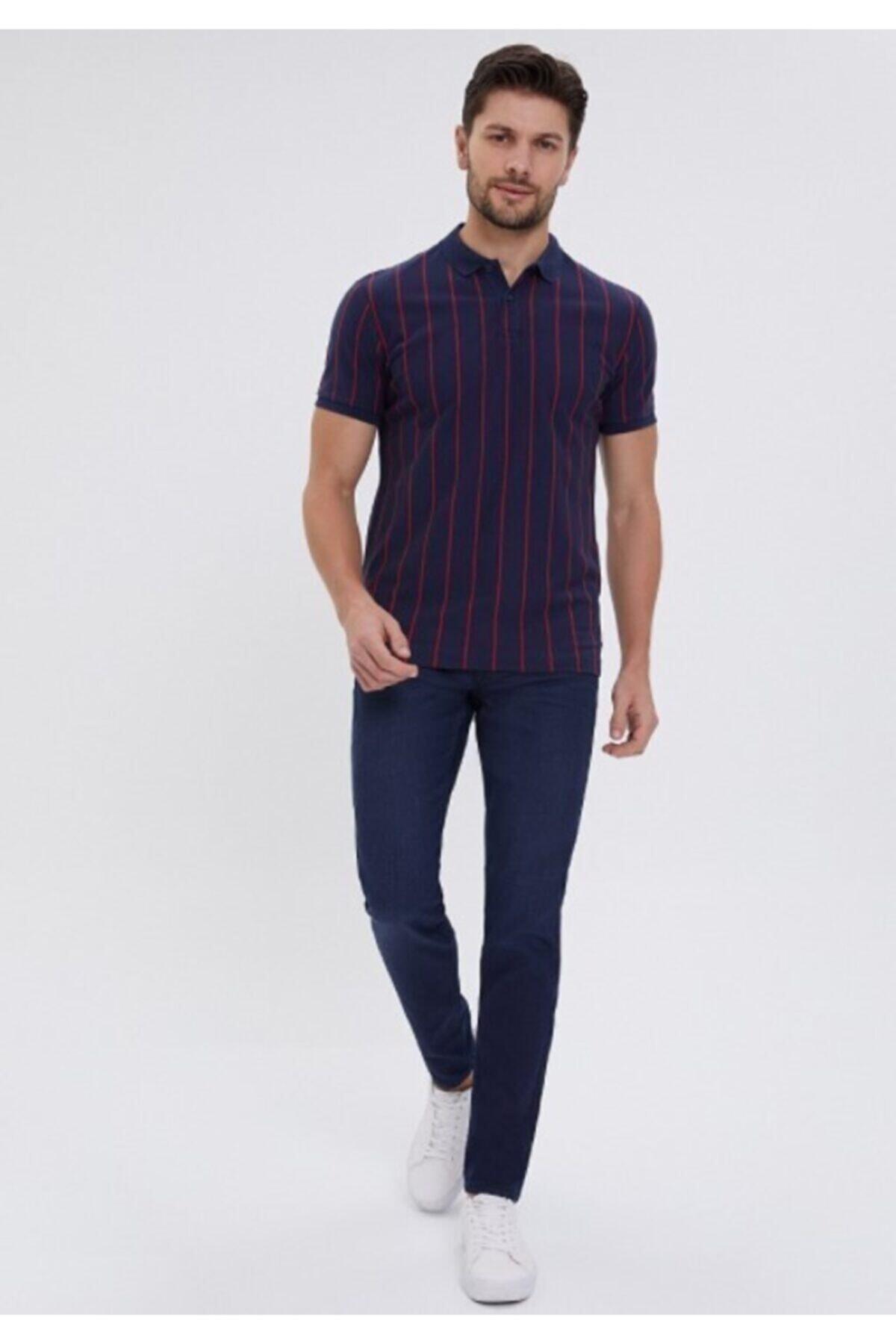 شلوار جین مردانه برند Loft رنگ لاجوردی کد ty46254904