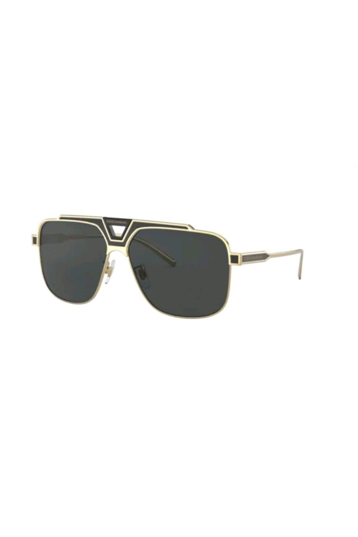 عینک دودی جدید مردانه شیک برند دولچه گابانا رنگ نقره ای کد ty46375755