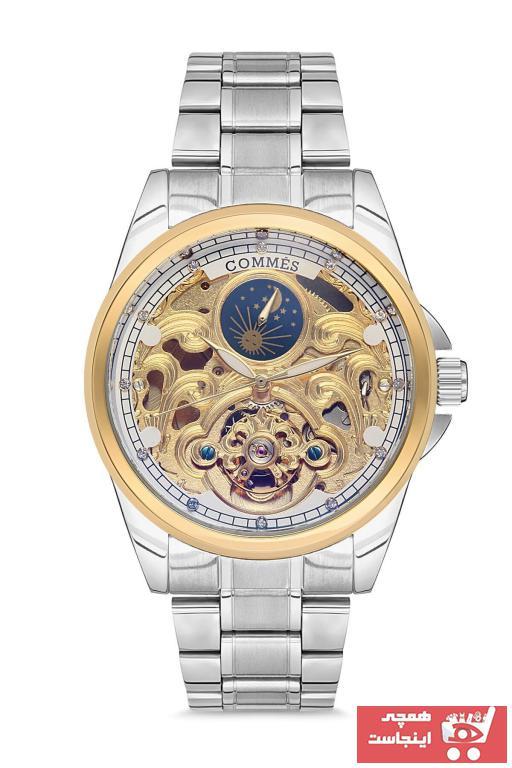 خرید اینترنتی ساعت مردانه 2020 برند COMMES رنگ نقره کد ty46450008