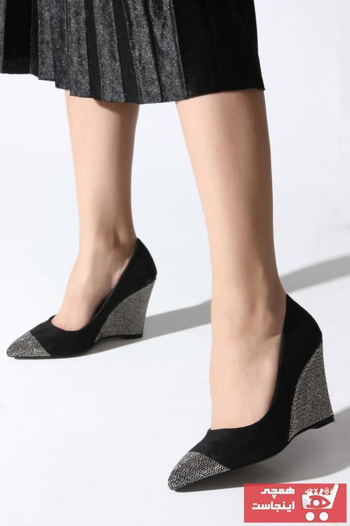 کفش پاشنه بلند مجلسی زنانه فروش برند ROVIGO رنگ مشکی کد ty4652917