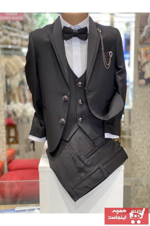 لباس مجلسی بچه گانه فروشگاه اینترنتی برند Sinan çocuk رنگ مشکی کد ty46564889