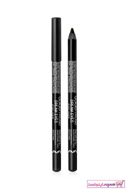 فروش انلاین مداد چشم برند Golden Rose رنگ مشکی کد ty4660170