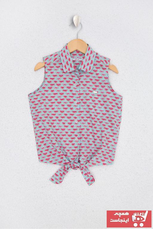 خرید انلاین پیراهن دخترانه ترکیه یو اس پولو رنگ قرمز ty46854843