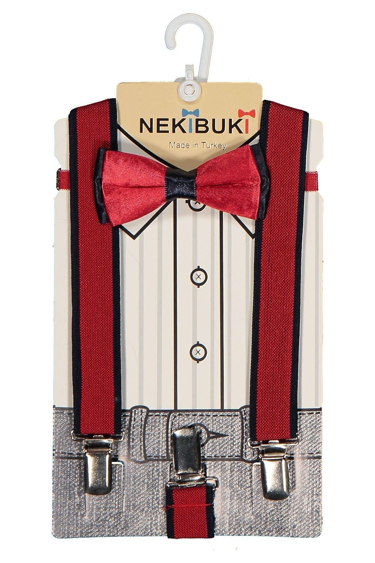 خرید مدل پاپیون بچه گانه پسرانه برند NEKİBUKİ رنگ قرمز ty47049345