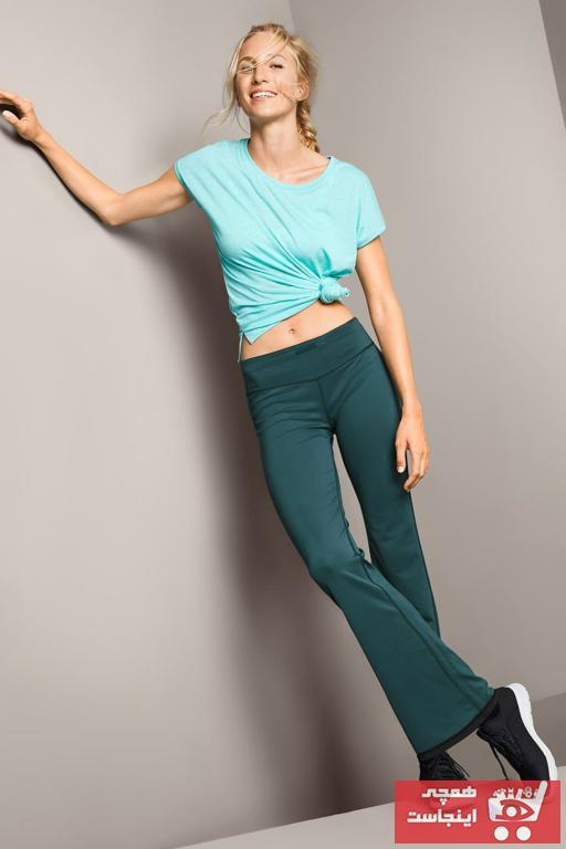 فروش شلوار ورزشی مردانه حراجی برند Tchibo رنگ آبی کد ty47117071
