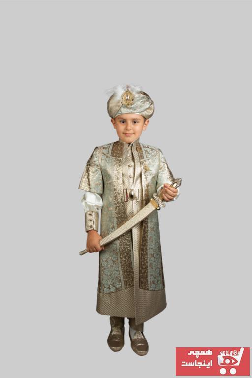 لباس خاص ارزان بچه گانه برند Sinan çocuk رنگ سبز کد ty47123587