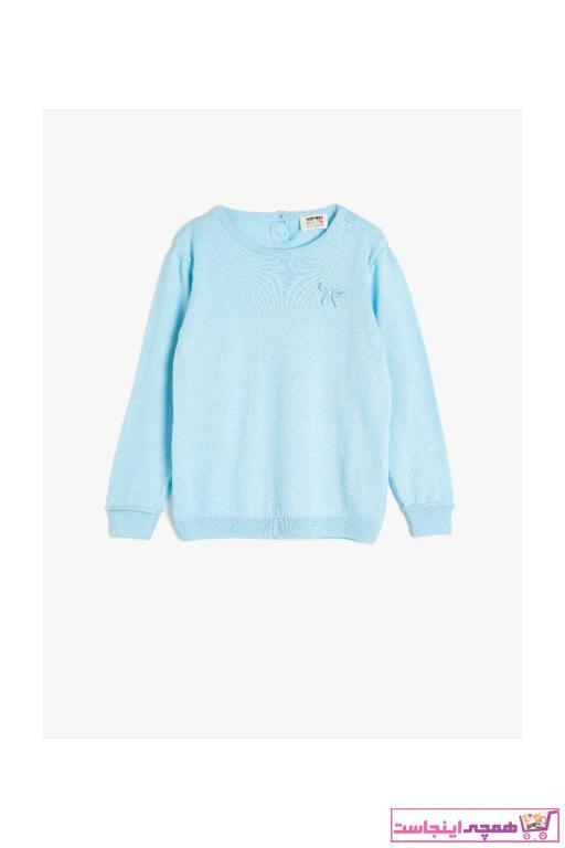 خرید ارزان پلیور فانتزی دخترانه برند Koton Kids رنگ آبی کد ty47413950