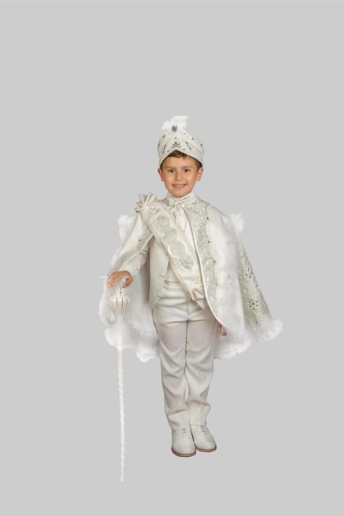 لباس خاص پسرانه ارزان قیمت برند Sinan çocuk رنگ بژ کد ty47463682