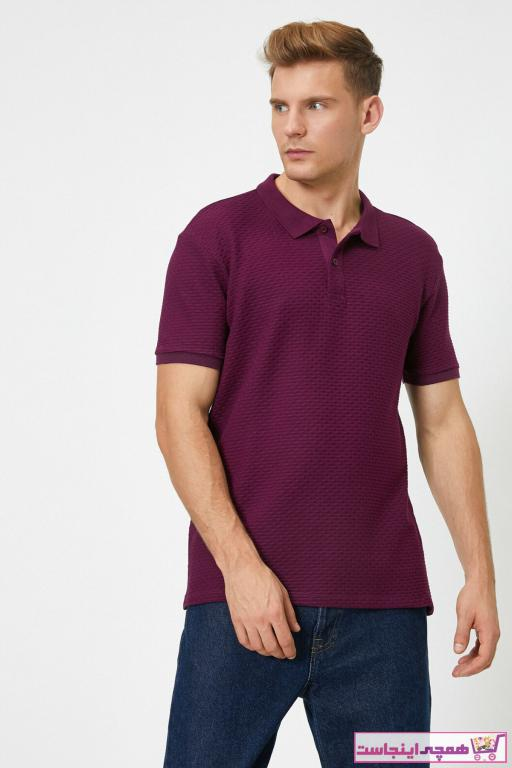 خرید انلاین پولوشرت زیبا مردانه برند کوتون رنگ بنفش کد ty47647650