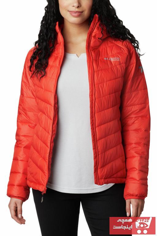 خرید اینترنتی کاپشن ورزشی زنانه برند کلمبیا رنگ نارنجی کد ty47735803