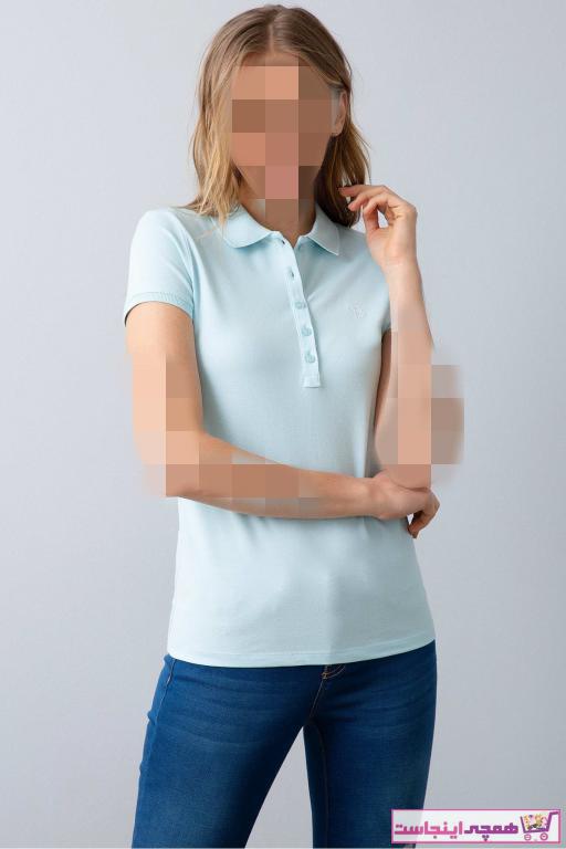 خرید اینترنتی پولوشرت خاص زنانه برند U.S. Polo Assn. رنگ سبز کد ty4778935