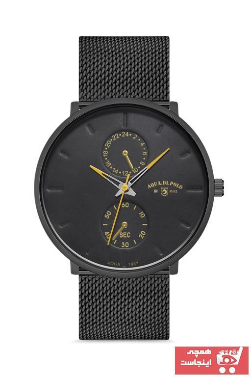 فروش ساعت مردانه  مارک Aqua Di Polo 1987 رنگ مشکی کد ty47984992